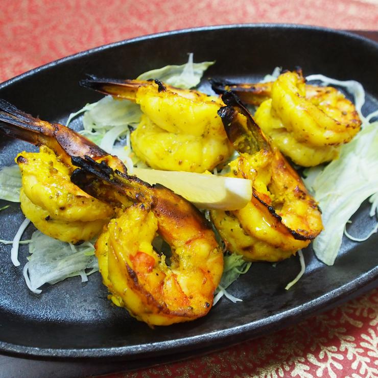 奈良王寺の本格インド料理 Mayur -マユール- 海老炭火焼