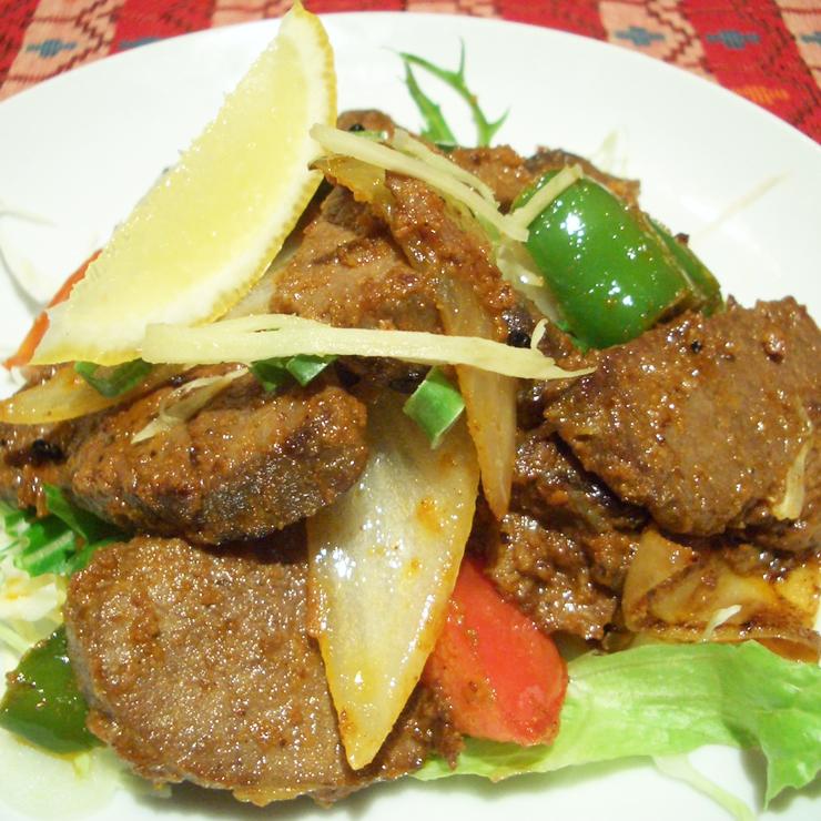 奈良王寺の本格インド料理 Mayur -マユール- スパイシーマトン