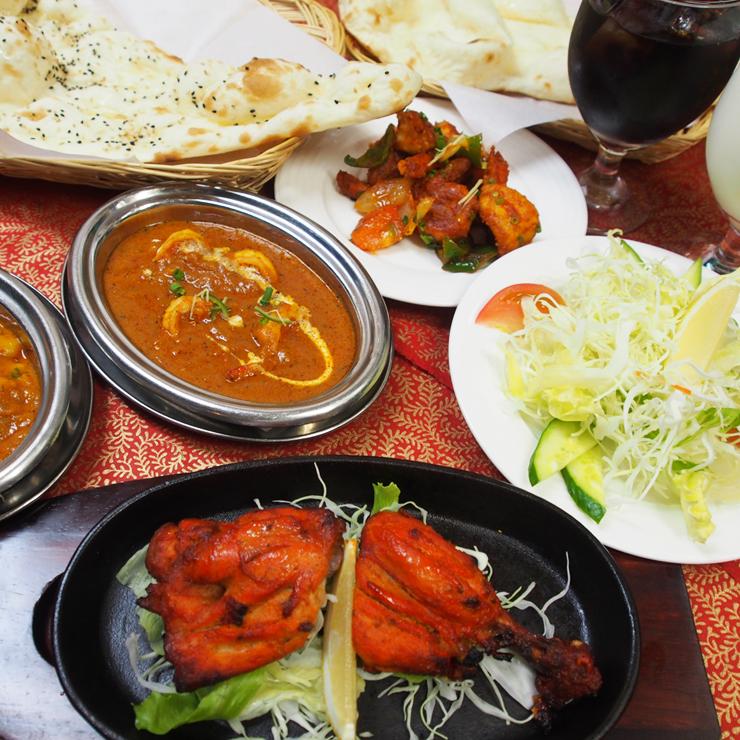 奈良王寺のインド料理 Mayur -マユール- ペアセット