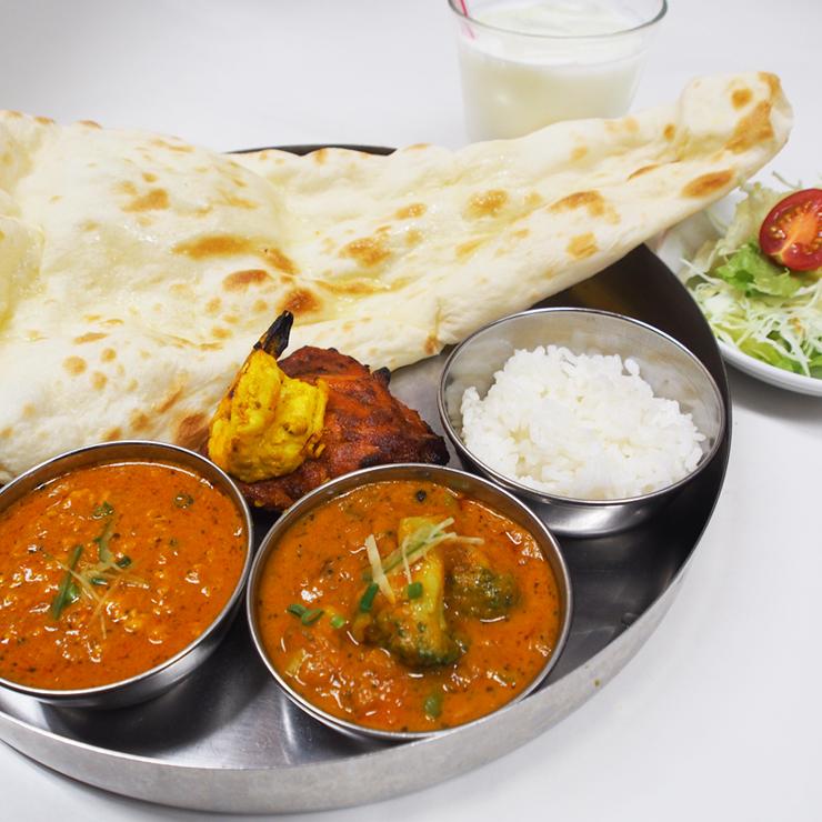 奈良王寺のインド料理 Mayur -マユール- グリルランチ